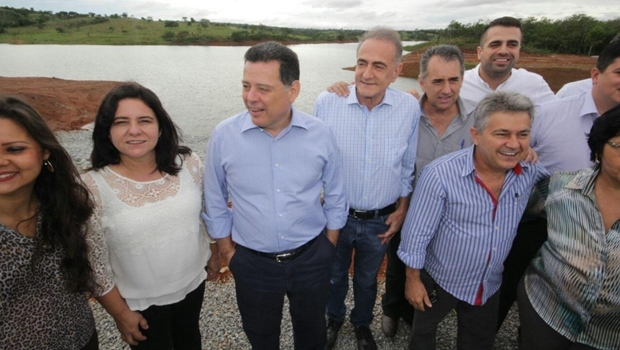 Marconi anuncia inauguração do Sistema Mauro Borges e da barragem João Leite para março
