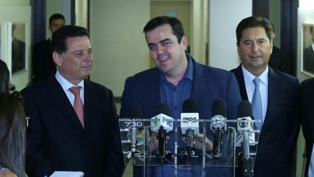 """Gustavo Mendanha diz que vai """"aumentar parcerias"""" com governo do estado"""