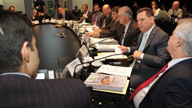 Reunião ocorreu nesta quarta-feira (7) e contou com a presença do ministro da Integração Nacional | Foto: Marco Monteiro