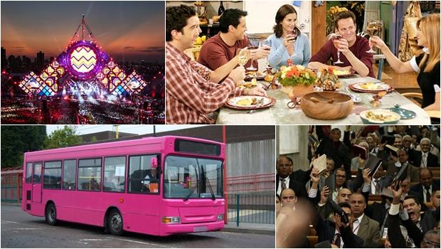 Projetos propõem alterações no calendário oficial da cidade, criação de feriado, ônibus rosa e muito mais... | Foto: Montagem / reprodução