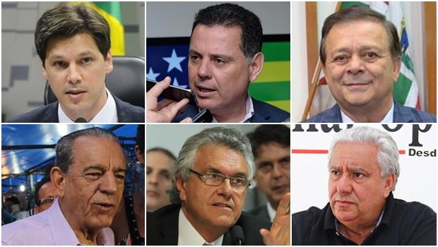 10 políticos mais importantes de Goiás em 2016
