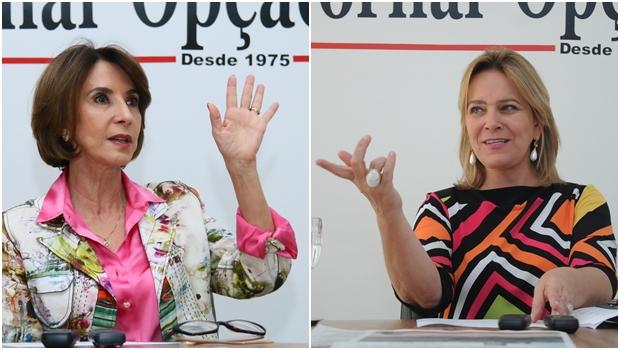 Deputados estaduais apontam Raquel Teixeira e Lêda Borges como as duas secretárias mais fracas