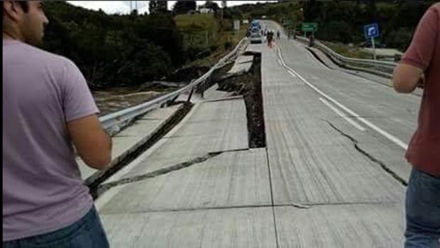 Abalo sísmico não deixou vítimas | Foto: Reprodução/Twitter