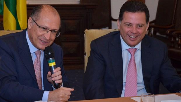 Com apoio de Alckmin, Marconi deve ser confirmado presidente do PSDB nacional