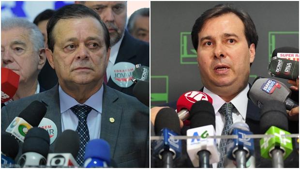 Rodrigo Maia ganha apoio de Governador do ES