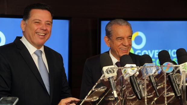 Marconi Perillo reafirma que portas do governo estão abertas para Iris Rezende