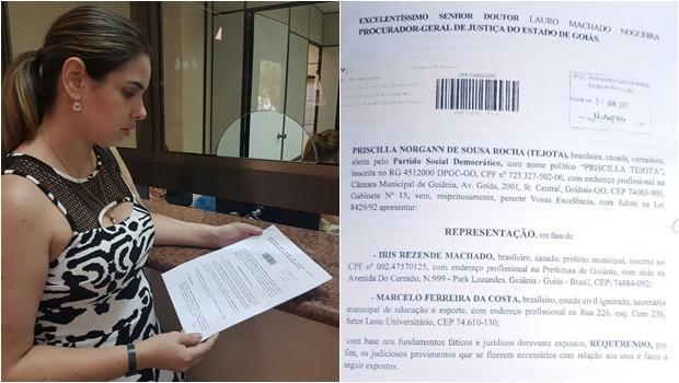 Vereadora vai ao MP questionar portaria que prorrogou contratos temporários na Educação