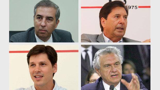 José Eliton, Maguito (ou Daniel) Vilela e Caiado devem disputar o governo de Goiás em 2018