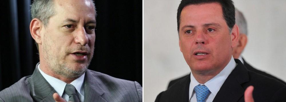 Marconi Perillo e Ciro Gomes discutem sucessão presidencial em Brasília