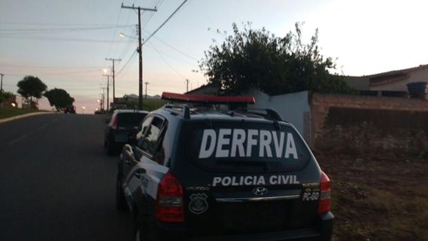 Polícia prende quadrilha de roubo e desmanche de carros em Goiânia
