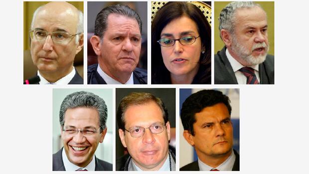 A lista da qual deve sair o ministro que vai substituir Teori Zavascki