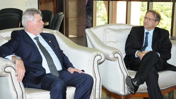 Superintendente do BB reforça parceria com governo