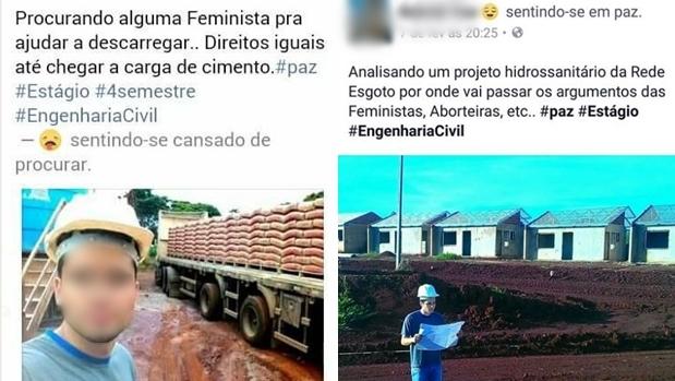 Construtora demite estagiário de Engenharia após mensagens de ódio a feministas