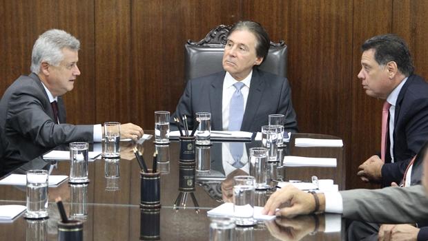 Em Brasília, Marconi defende partilha de recursos da repatriação