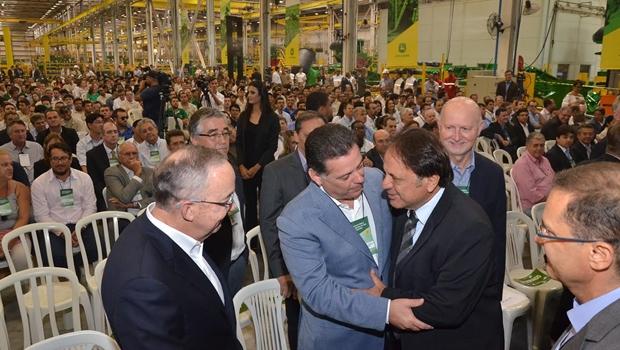 Em Catalão, Marconi e Adib anunciamparceria para expansão do Distrito Industrial