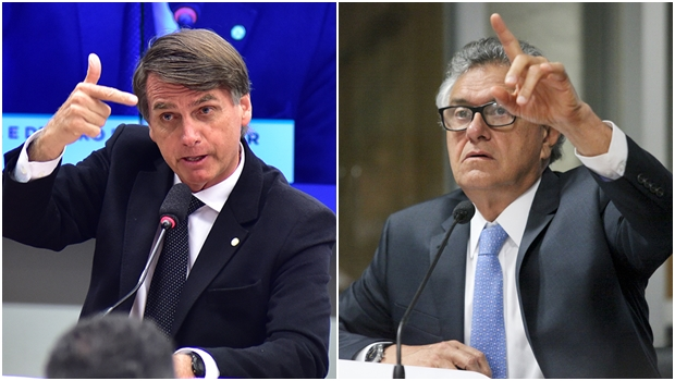 Bolsonaro rifou o senador Ronaldo Caiado da política nacional