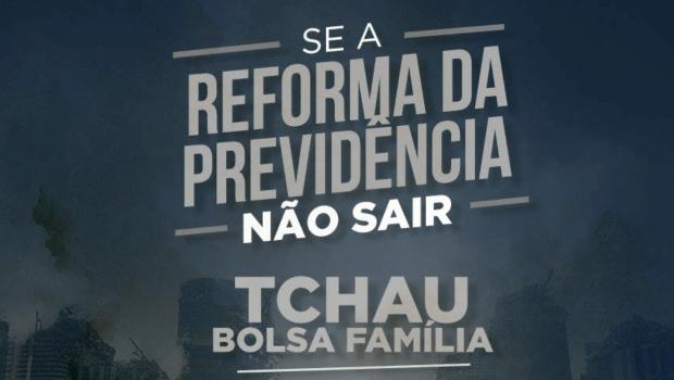 PMDB ameaça acabar com Bolsa Família caso reforma da Previdência não seja aprovada