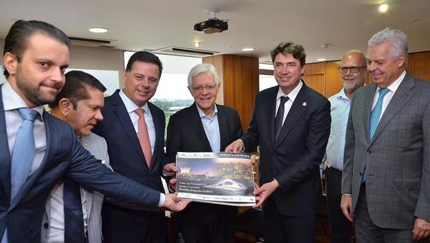 Governo Temer pede a Marconi que coordeneprojeto do trem Goiânia-Brasília