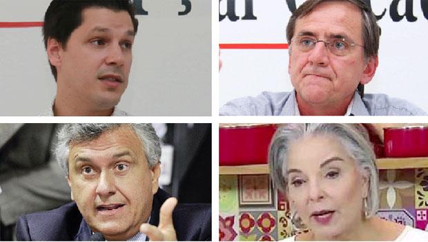 Daniel e Maguito Vilela devem seguir com o PT de Antônio Gomide e o irismo com Ronaldo Caiado