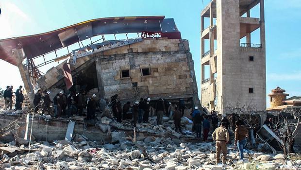 Ataques nas proximidades de Damasco deixam 11 pessoas mortas