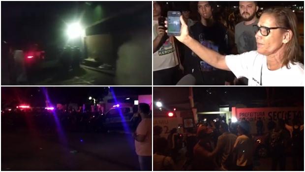 Gestão Iris manda Guarda Municipal retirar a tiro e bomba manifestantes de ocupação