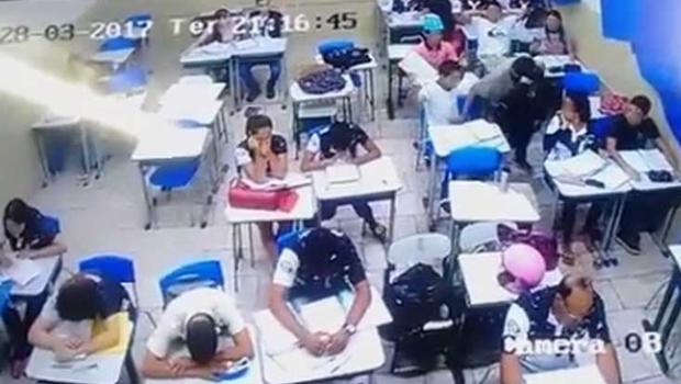 Polícia Civil prende suspeitos de realizarem arrastão em escola de Abadia de Goiás
