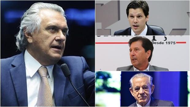 """Na campanha de 2018, Caiado vai atacar seus """"aliados"""" Iris, Maguito e Daniel, citados na Lavajato?"""
