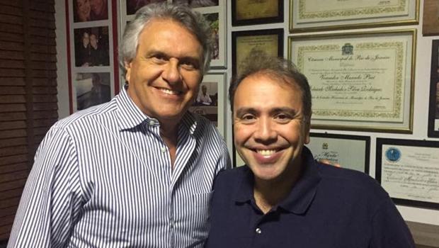 Eduardo Machado, do PHS, deve participar da gestão de Ronaldo Caiado