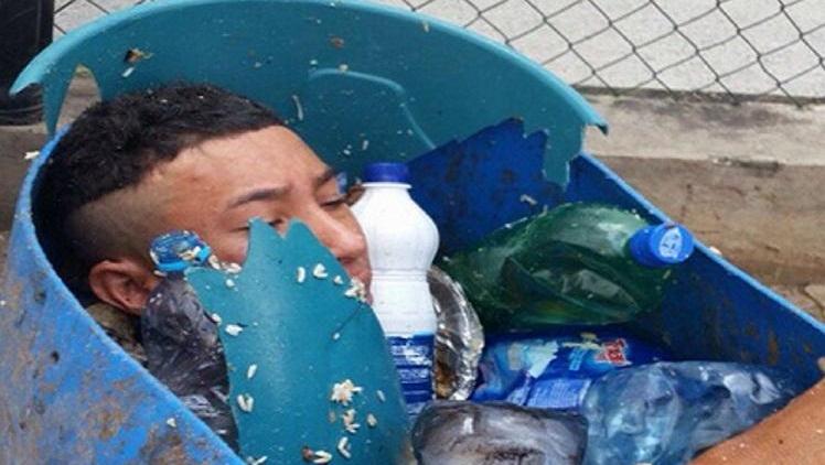 Detento tenta fugir escondido dentro de tambor de lixo em cadeia no Ceará