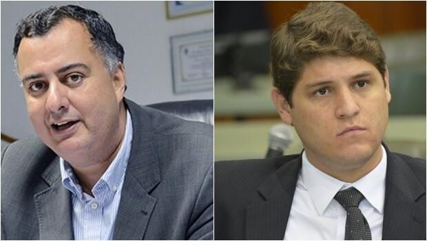 Lucas Calil e Júnior Vieira não devem ser convidados para comer da mesma picanha. Pode sair sangue