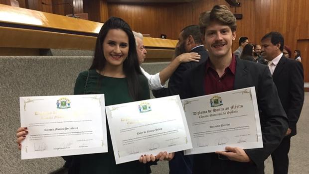 Profissionais do Jornal Opção são homenageados na Câmara de Goiânia