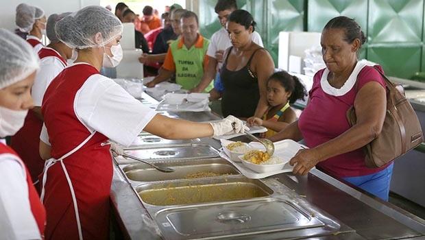 Restaurante Comunitário de Brazlândia é reaberto