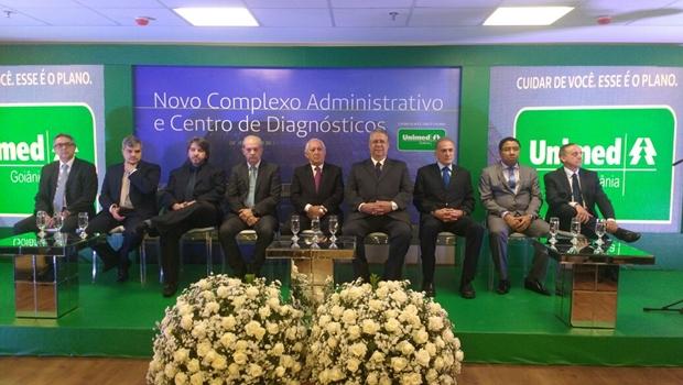 Unimed Goiânia inaugura nova sede e anuncia mudança na presidência