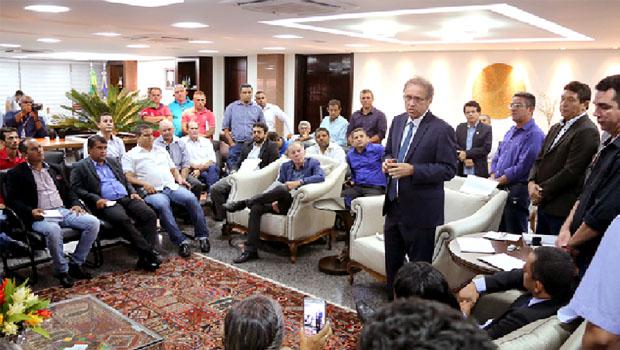 Governador discute demandas com a União de Vereadores