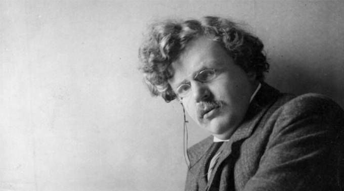 Biografia resgata a relevância de G. K. Chesterton como escritor e filósofo