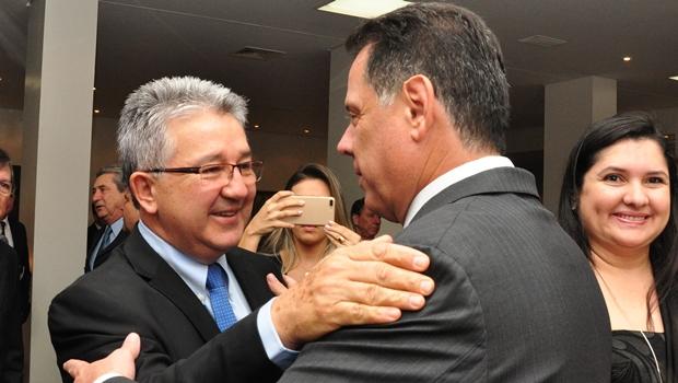 """""""É importante enaltecer disposição de quem garante emprego para Goiás"""", afirma Marconi"""