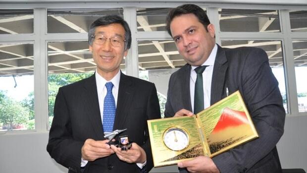 Roberto Naves se reúne com o embaixador do Japão e acerta parcerias