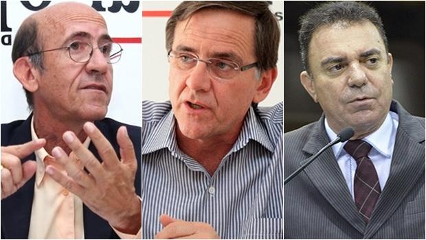 Rubens Otoni, Antônio Gomide e Luis Cesar não percebem que PMDB não quer aliança com o PT