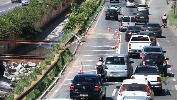 Prefeitura de Goiânia confirma interdição de trechos da Marginal Botafogo