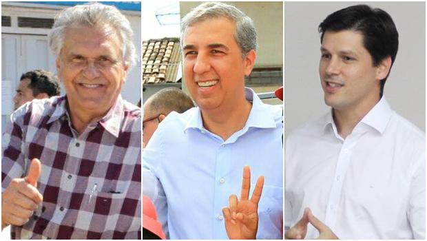 Caiado lidera corrida ao governo em 2018. José Eliton e Daniel Vilela empatam