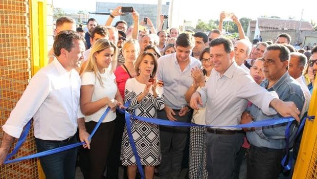 Governo de Goiás inaugura novo colégio Padrão Século 21 em Caldas Novas