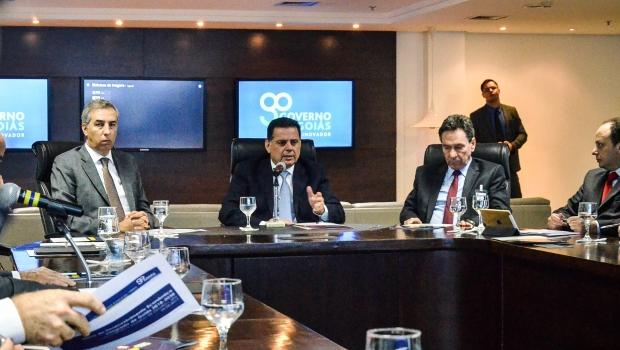 Marconi dá início à construção de plano de desenvolvimento integrado para Goiás