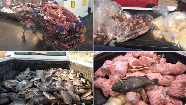 MPGO apreende mais de 3 toneladas de carne estragada em Luziânia
