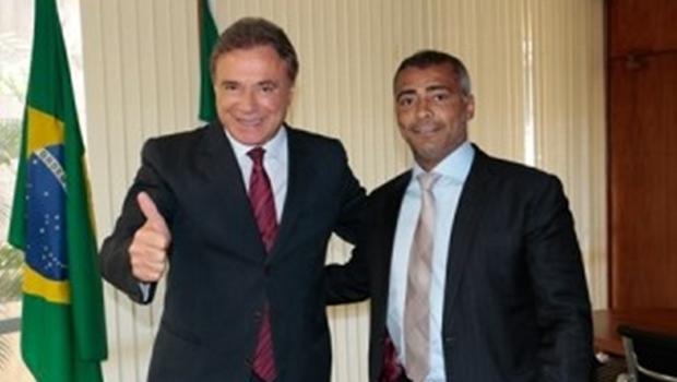 Podemos filia Romário para disputar governo do Rio e Álvaro Dias para disputar a Presidência