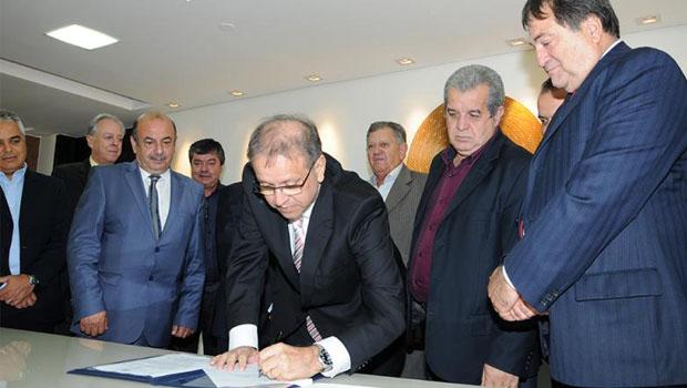 Parceria tornará o Estado exportador de alimentos para o mundo árabe