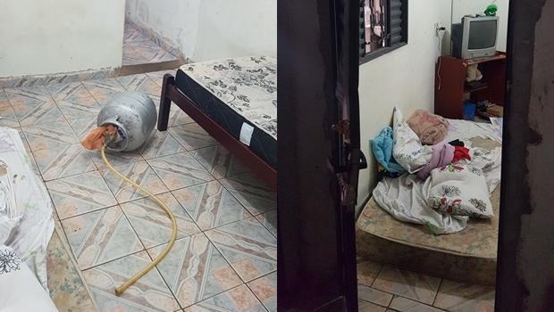 PM resgata mulher após namorado ameaçar explodir a casa com botijão de gás