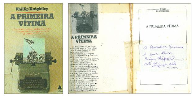 História de um livro sobre jornalismo e guerra que seu primeiro leitor lapidou e reformatou para futuros leitores