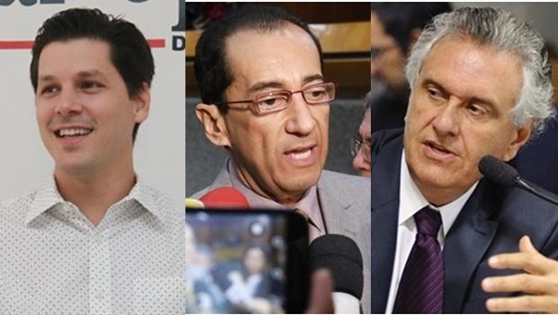 Jorge Kajuru diz que não se deixará usar nem por Ronaldo Caiado nem por Daniel Vilela