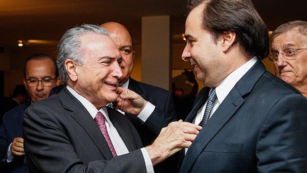 Maia descarta criação de novos impostos para custear segurança pública