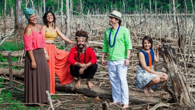 Passarinhos do Cerrado grava DVD no Encontro de Culturas da Chapada
